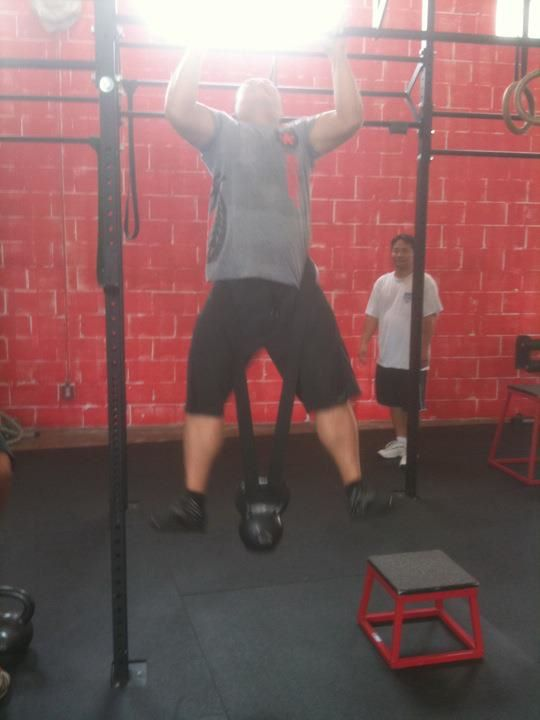 Strength Day Bench Press Weighted Pull Ups Crossfit Hawaii